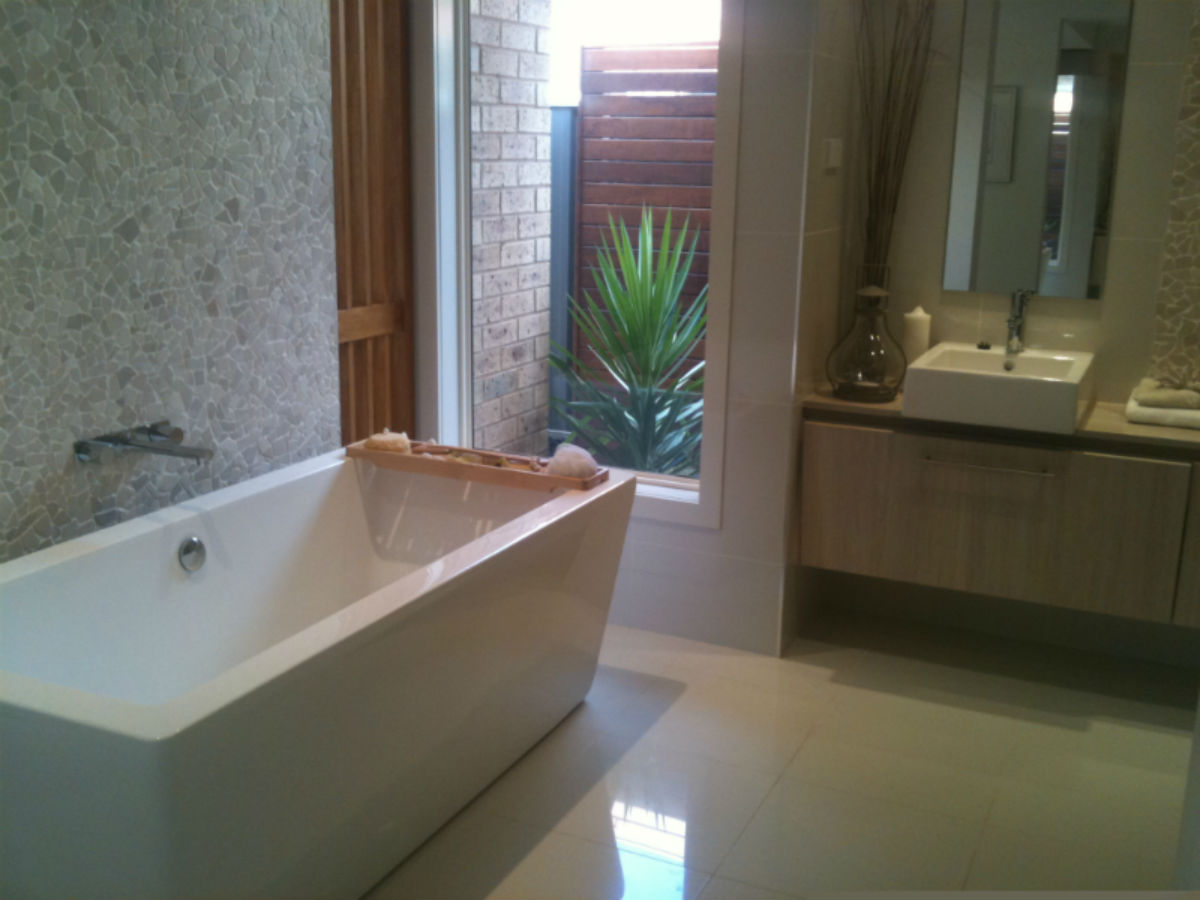 Make your bath a feature